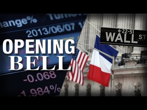 Wall Street Reacts to the Terror Attacks in Paris, U.S. Stocks Open Lower