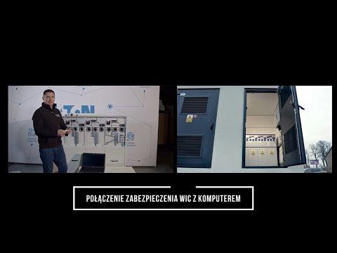 Komunikacja przekanika zabezpieczeniowego WIC-1 z komputerem