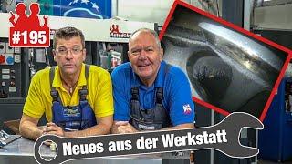 Holger und Jürgen sind verkatert! 🤕   Wie verkokt sind die VW-Golf-VI-Ventile? - Endoskop-Check!