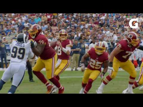 Redskins In :60 - Moses Displays Toughness In Trying 2017 Season