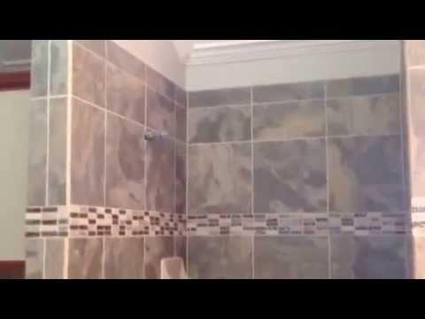 Custom Shower By Houston Tile Works YouTube - Bathroom tile houston