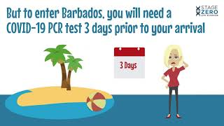 Stage Zero COVID-19 PCR testing for Barbados