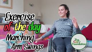 Matching Arm Swings | Wheelchair Fitness Workout | Seated Exercise