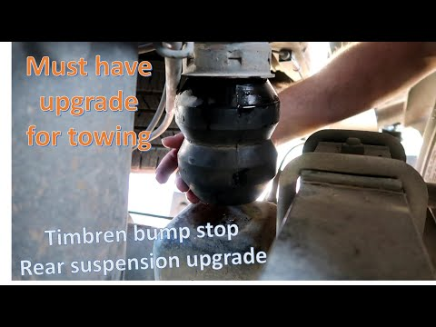 How to install Timbren bump stop suspension upgrade on 2011 GMC Sierra 2500 compression cup