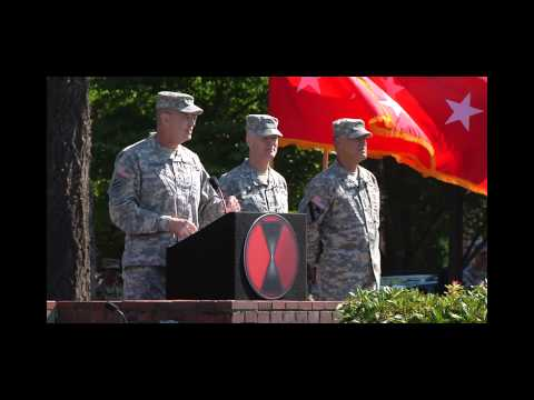 7th ID change of command