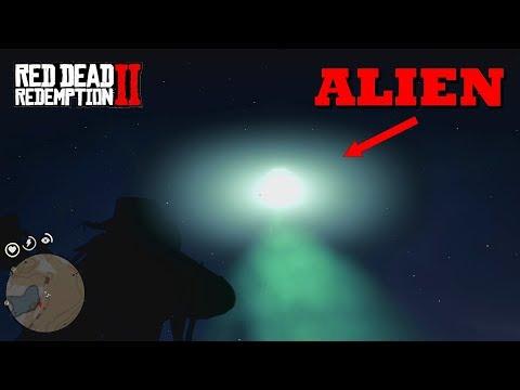 UFO sur RDR2 ! (Soucoupe volante)