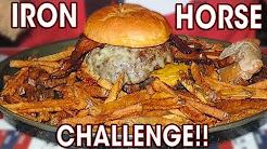 IRON HORSE BURGER CHALLENGE IN MINNESOTA!!