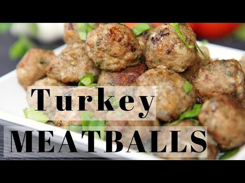 Easy Baked Turkey Meatballs Recipe (Go with ANYTHING meatballs)