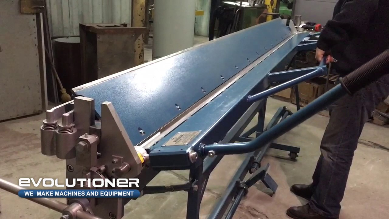 Manual Bending Machine Mb 3150mm Bending Of The Roofing