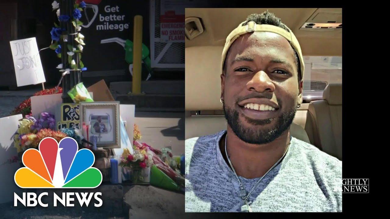 Un homme noir qui venait en aide à une femme lors d'une dispute conjugale, tué par un policier
