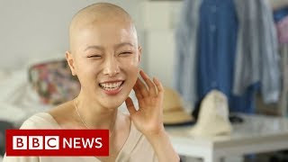 Korean beauty vlogger's cancer journey goes viral - BBC News