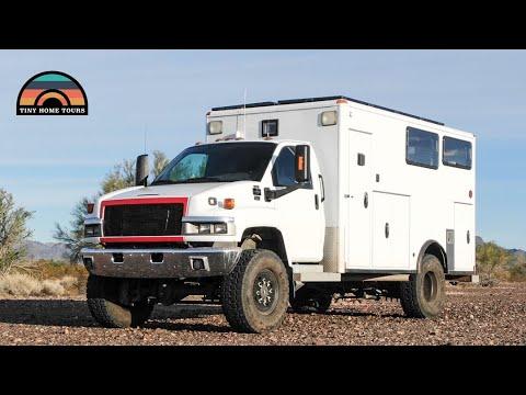 Ultimate 4x4 DIY Ambulance Conversion - Off Grid Overland Vehicle Tour