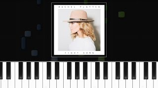 """Video Rachel Platten - """"Fight Song"""" Piano Tutorial - Cover - How To Play - Synthesia download MP3, 3GP, MP4, WEBM, AVI, FLV Agustus 2018"""