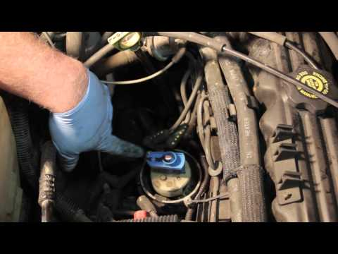 jeep cherokee distributor cap replacement youtube