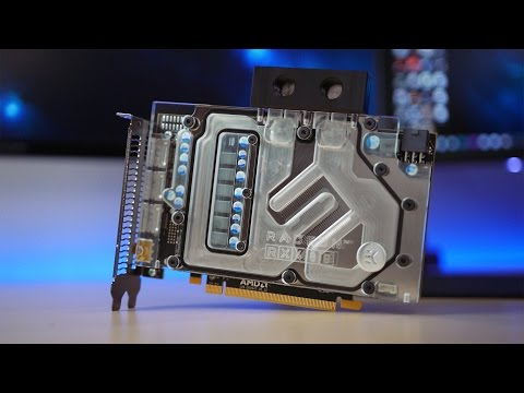 INSANE AMD RX480 Watercooled Video Card