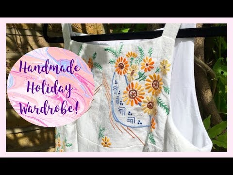 Inside My Handmade Holiday Wardrobe 2017