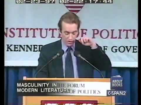 Martin Amis speaks at Harvard University 1997, Saul Bellow