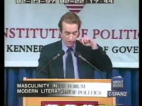 Martin Amis speaks at Harvard University 1997, Saul Bellow