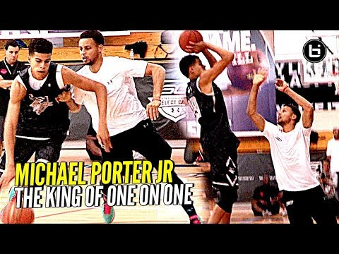 Thumbnail: Michael Porter Jr Is The KING of 1 on 1!! Steph Curry Camp Back to Back Champ!