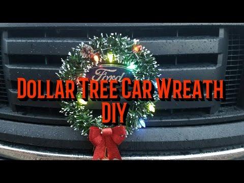 Dollar Tree DIY Car Wreath