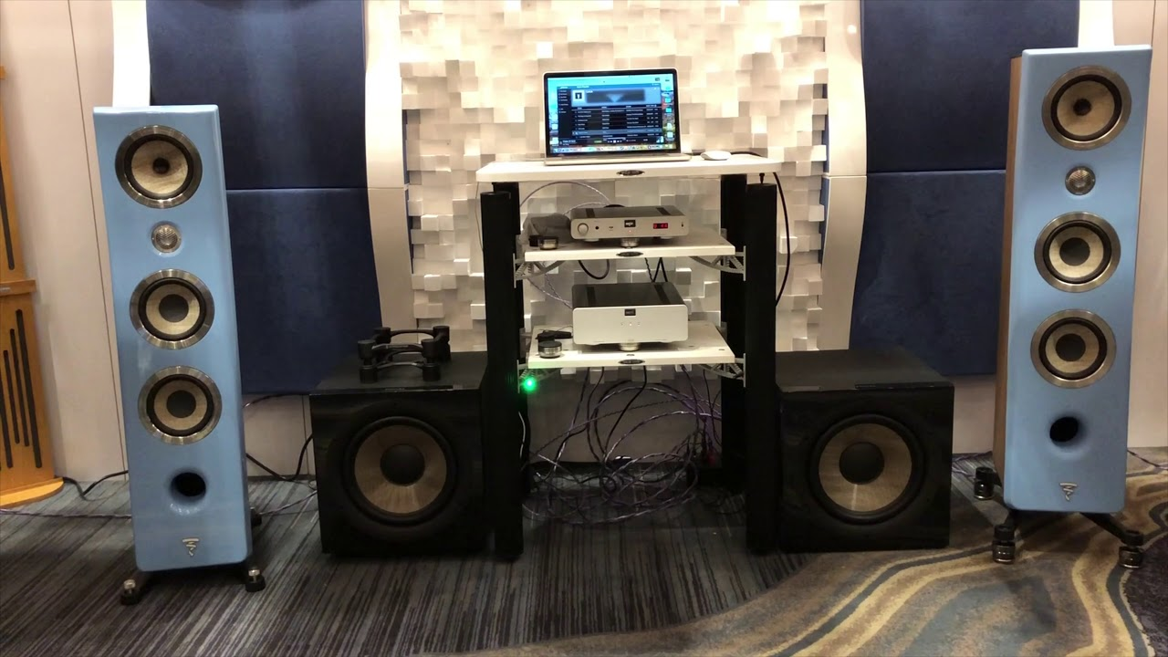RMAF 2018 and isolation demo   PS Audio