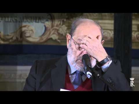 Roma - Umbero Eco alla conferenza ''L'Europa della Cultura'' (28.11.14)