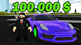 I BOUGHT a PORSCHE CAYMAN GT4 for 100 000 $ | ROBLOX #admiros