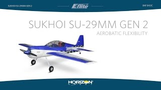 Load Video 1:  E-flite Sukhoi Su-29MM Gen 2