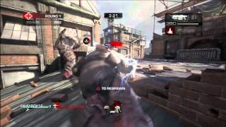 [XBOX 360] Demo Multiplayer Gears of War Judgment Overrun | JustKasto