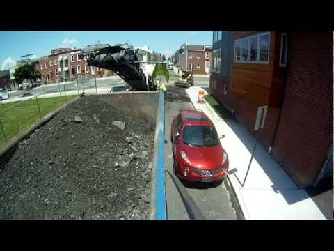 Mack Dump Truck Work, milling, for kids