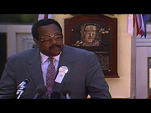Stargell delivers Hall of Fame induction speech