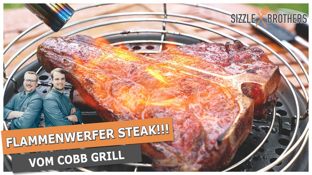 Cobb Gasgrill Pulled Pork : Flammenwerfer steak ein steak vom cobb grill youtube