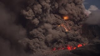 Sinabung: pyroclastic flows with twister and volcanic lightning thumbnail