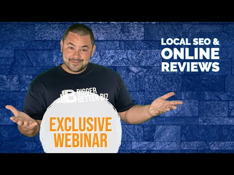 [Webinar] How To Use Local SEO Listings & Online Reviews