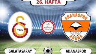 Galatasaray   Adana Spor Geniş Özet 03/04/2017 HD