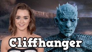 Game of Thrones Season 7 Maisie Williams Teases A Huge Cliffhanger