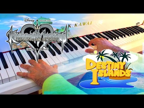 🎵 Destiny Islands (Kingdom Hearts: Chain of Memories) ~  Piano arr. w/ Sheet music!