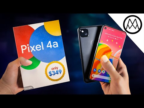 Google Pixel 4a Unboxing  Ridiculous.