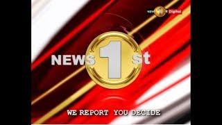 News 1st: Prime Time English News - 9 PM | (22-10-2018)