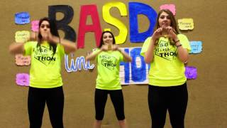 BASD Mini-THON Line Dance 2015