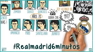 La historia del Real Madrid en 6 minutos