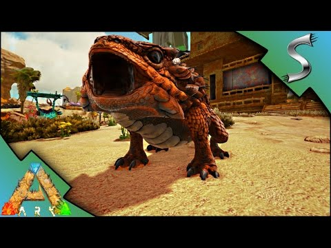 PERFECT THORNY DRAGON TAME + BREEDING & IMPRINTING! | Ark: Scorched Earth [Gameplay E23]