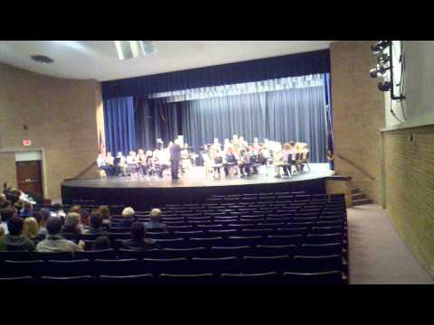 2011 LMS band Lindsborg Middle School