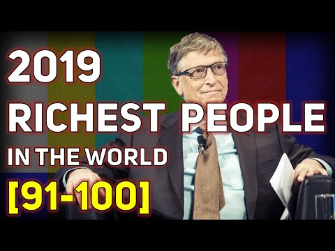 Top Billionaire Rankings from 91st to 100th