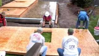 Little Blacksmith House Wall-raising Part 2