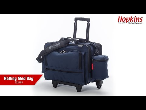 How the Rolling Med Bag Makes Your Job Easier