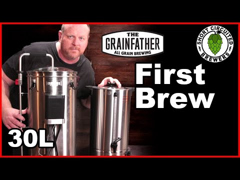 Grainfather Connect 30L All Grain Brewing System - First Brew Day 2020