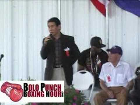 International Boxing Hall of Fame Opening Ceremony 6-5-08