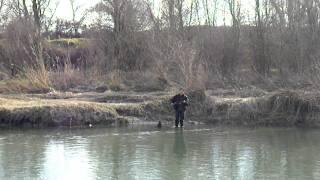 ribolov na bojnik na reka bistrica