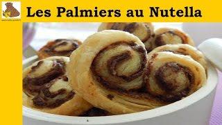 Les palmiers au Nutella